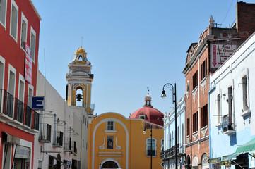 Puebla City Cityscape -Mexico