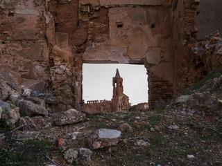 Spanish village destroyed in war