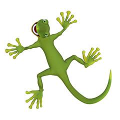 Gecko lizard 3d
