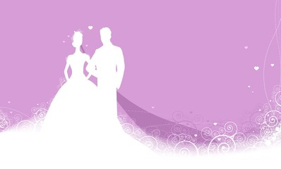 beauty wedding invitation background