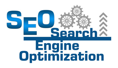 SEO Abstract Gears Arrow