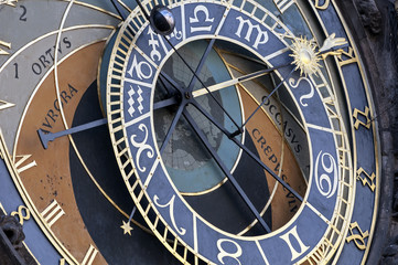 Astronomical clock, Prague.