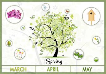 Spring Green Educational Tree