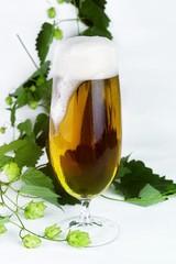 Bier im Glas