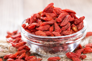 Healthy Goji Berries