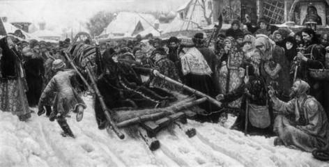 Boyarynya Morozova (Surikov, 1887)