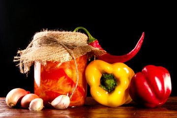 Bank marinades with ingredients