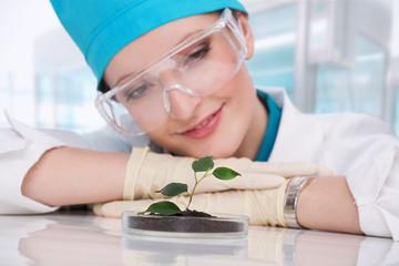woman biologist
