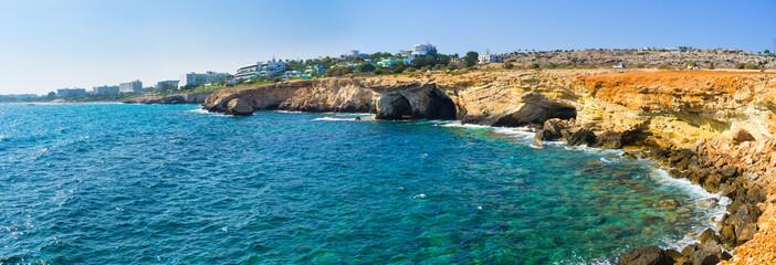 The indented coastline