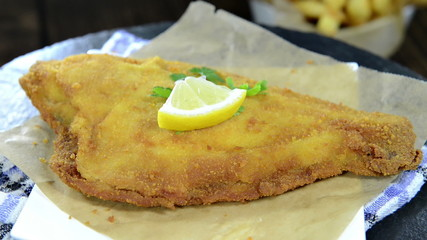Fried Plaice (not loopable)