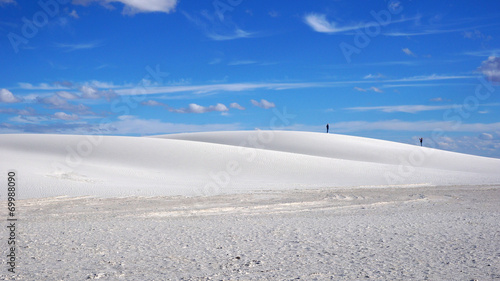 canvas print picture White Sands, New Mexico
