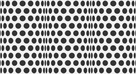 vector abstract halftone black and white background