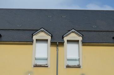 Deux fenêtres en fagade