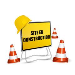 Chantier - Site en Constrution