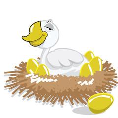 duck and golden eggs