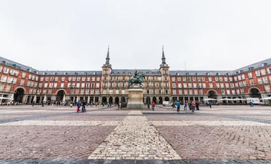 スペイン マドリード マヨール広場