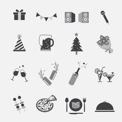 vector party icon