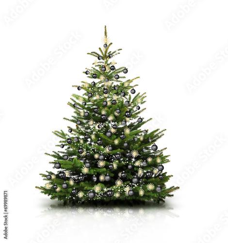 gamesageddon christbaum mit schwarzen kugeln lizenzfreie fotos vektoren und videos kaufen. Black Bedroom Furniture Sets. Home Design Ideas