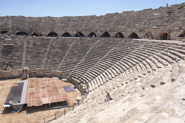 Side Amphitheatre Interior