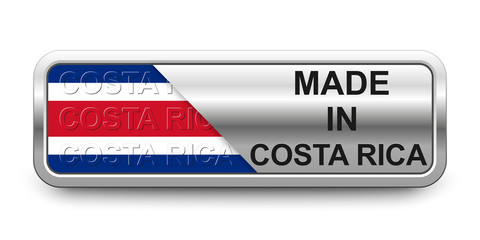 Made in Costa Rica Button