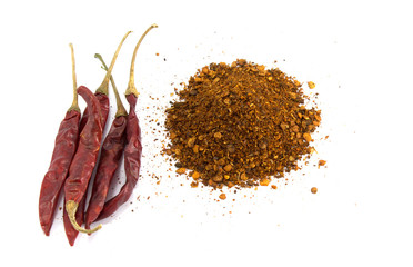 cayenne pepper and chilli pepper