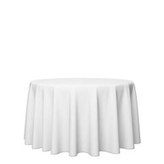 empty blank presentation covered pedestal