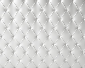 white silky luxury buttoned pattern