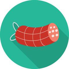 Vector salami icon