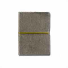 old velvet notebook