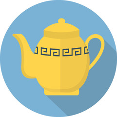 Vector teapot icon