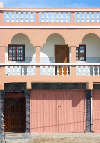 canvas print picture architecture du maghreb