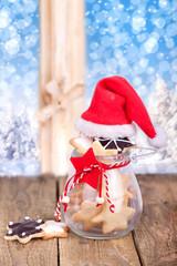 selbstgebackene Weihnachtsplätzchen