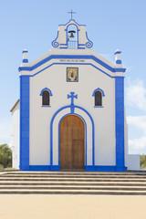 Small church in Ayamonte, Huelva. Spain