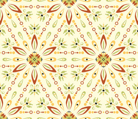 Seamless colorful pattern - textile