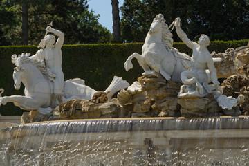 Schonbrunn Neptune fountain