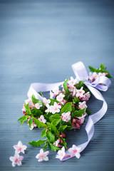 Weigel beautiful pink flowers