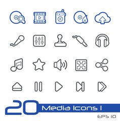 Media Icons -- Line Series