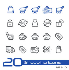 Sopping Icons -- Line Series