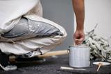 Fototapety Maler bei der Arbeit
