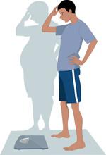 Mężczyzna anoreksja