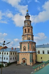 thbell tower of the Peter and Paul Cathedral in Kazan