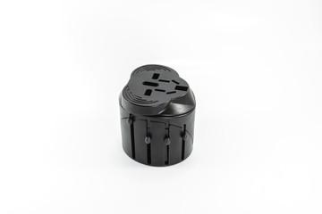 Portable Plug On White Background