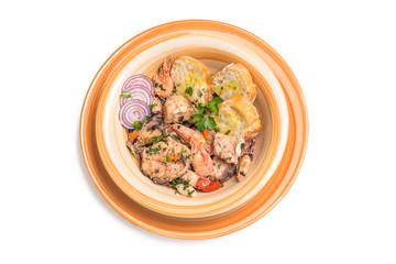 Zuppa di pesce, cucina mediterranea