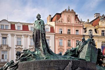 Jan Hus memorial, Prague, Czech Republic