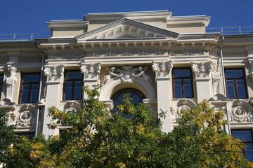 House architectural detail,Vilnius