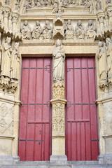 Hauptportal Eingang Amiens