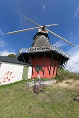 Mühle von unten