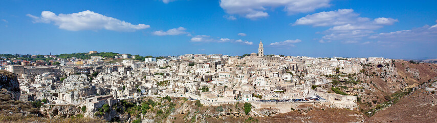 Matera, panoramic view