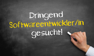 Dringend Softwareentwickler gesucht