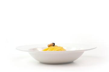 mosciolo nel piatto